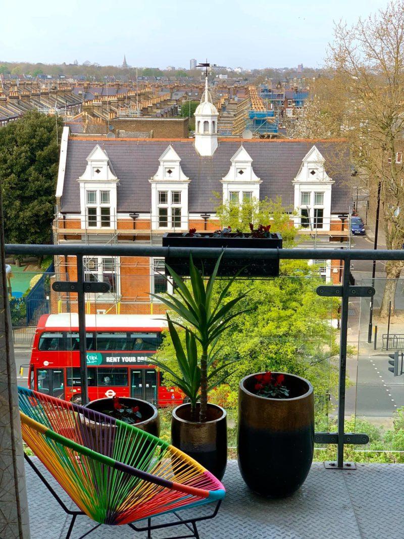 André Hellström e a vista de North Kensington, no grupo do facebook View from my window