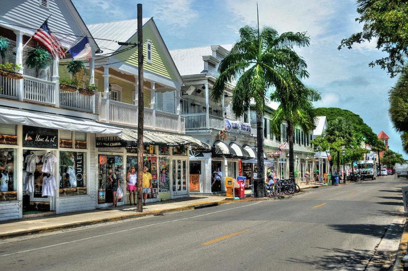 A Duval Street, em Key West