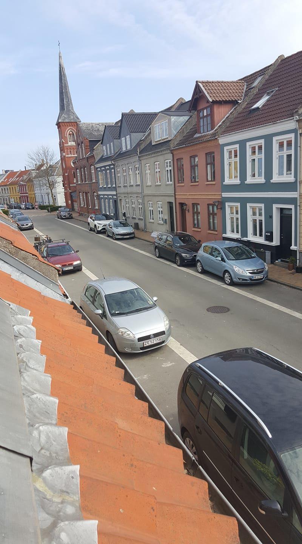 As ruas da Dinamarca, na foto de Mona Dahlquist