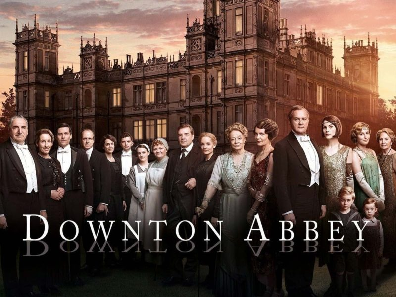 Séries gravadas na Inglaterra: Downton Abbey.