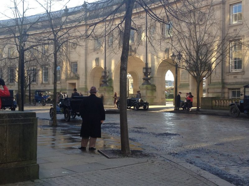 Séries gravadas na Inglaterra: Bolton Town que aparece em Peaky Blinders.