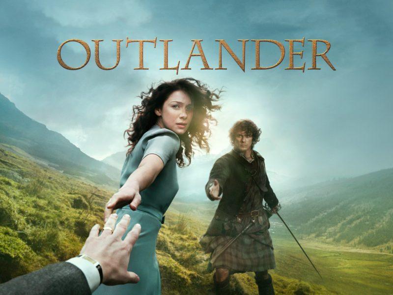 Séries inglesas: Outlander.