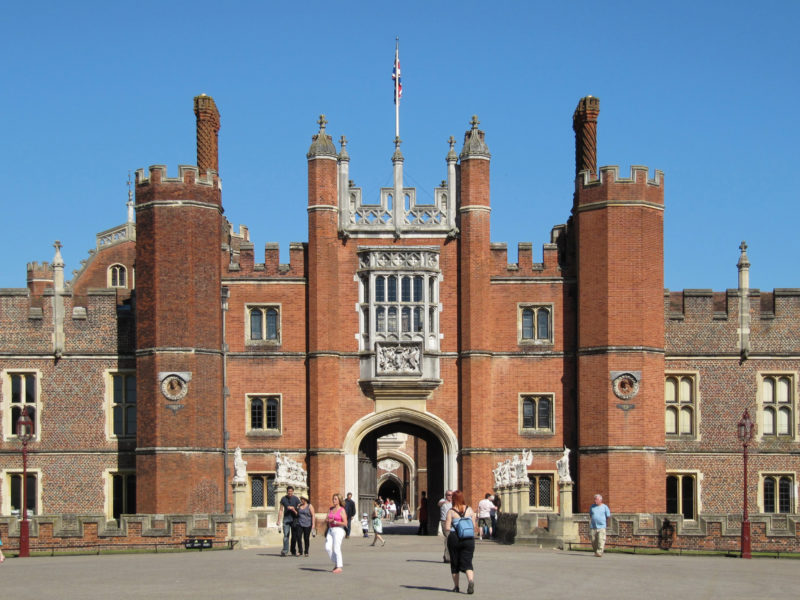 Londres em séries: Hampton Court Palace.