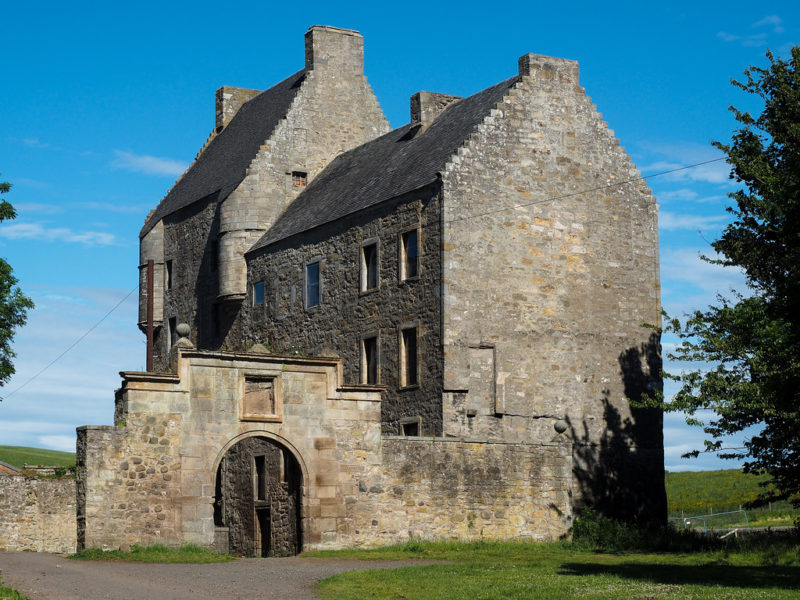 Séries britânicas: Castelo Midhope.