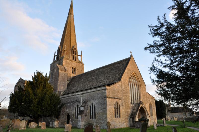 Cenários de séries britânicas: St Mary's Church, em Bampton.
