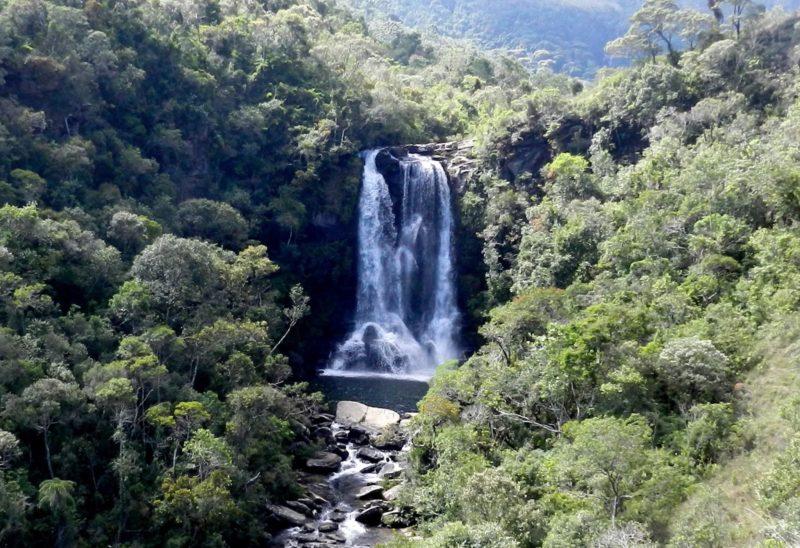 Lugares de natureza no Brasil: a cachoeira dos Garcias, no Matutu