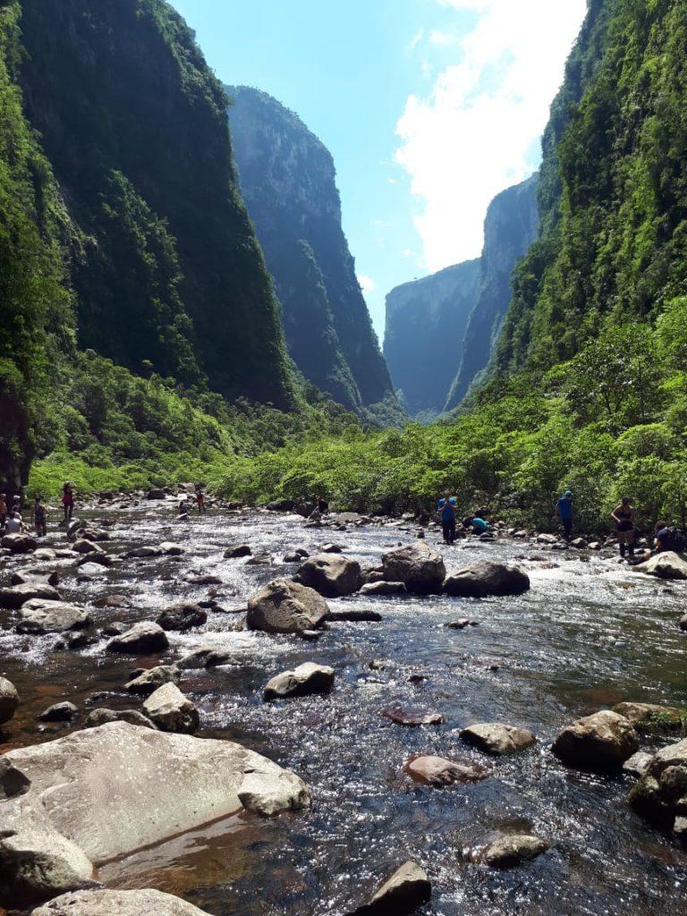 O que fazer em Aparados da Serra: vista da trilha do rio do Boi