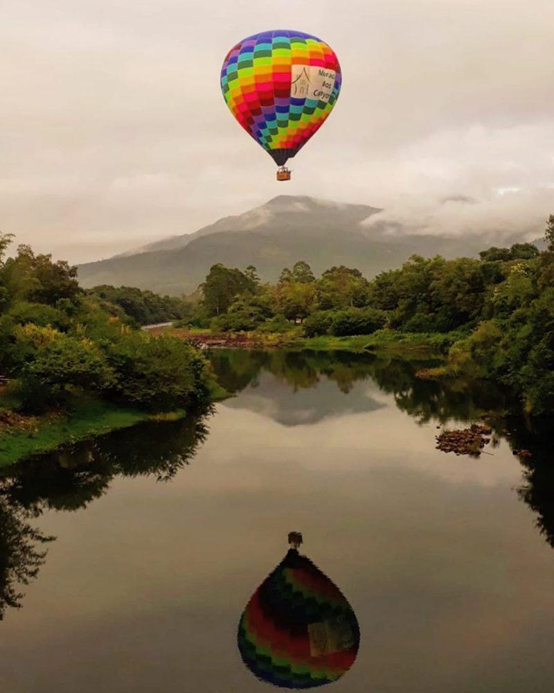 Viagens de natureza pelo Brasil: o passeio de balão em Aparados é outra atividade imperdível