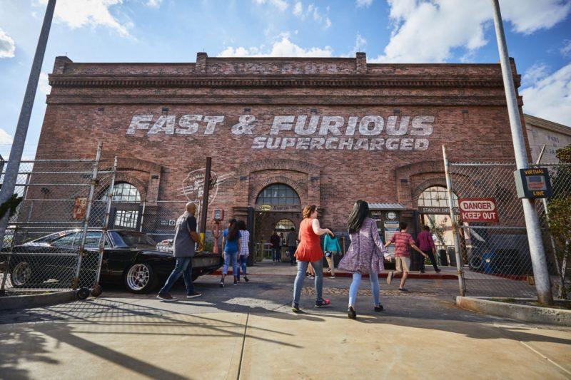 Novidades em Orlando: o Fast & Furious: Supercharge, que substituiu Disaster.