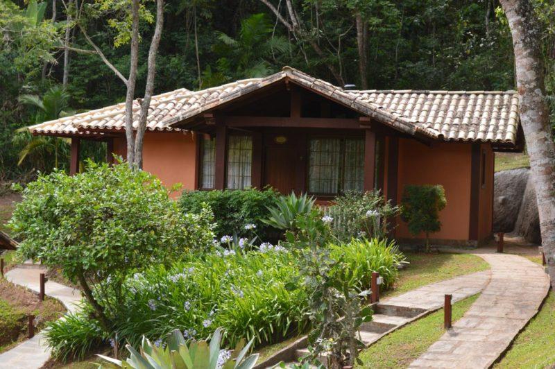 Destinos naturais no Rio de Janeiro: Chalés da Pousada Las Roches.