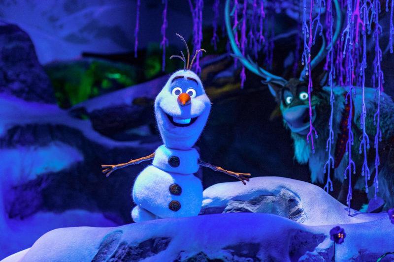 Atrações Disney Orlando: Frozen, no EPCOT.