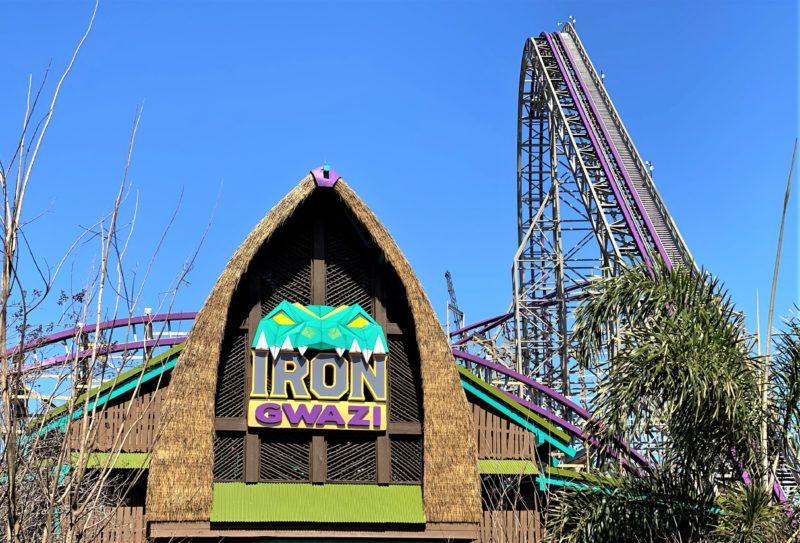 Montanha Russa Orlando: a novíssima Iron Gwazi, no Busch Gardens.