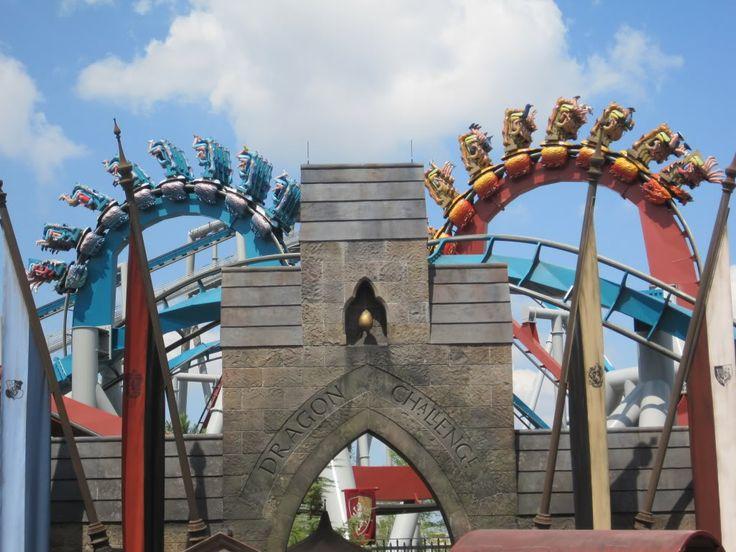 Atrações em Orlando que foram substituídas: a radical Dragon Challenge, em Orlando.