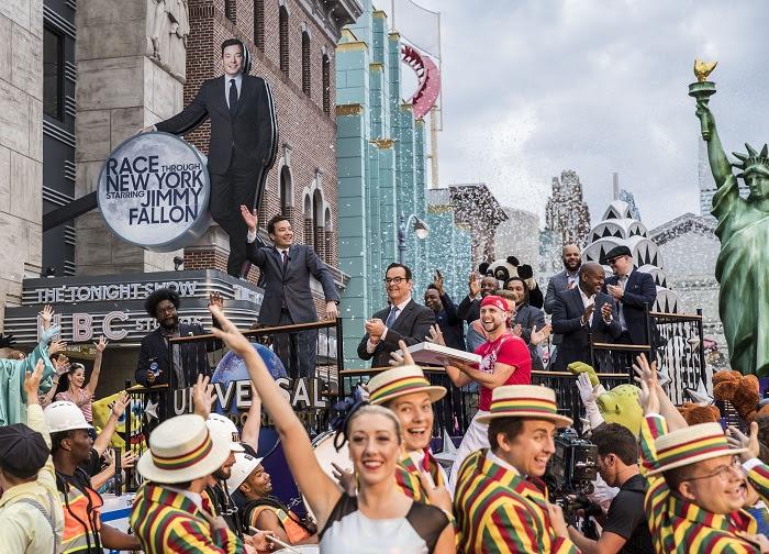 Orlando novas atrações: Race through New York Starring Jimmy Fallon no lugar de Twister.
