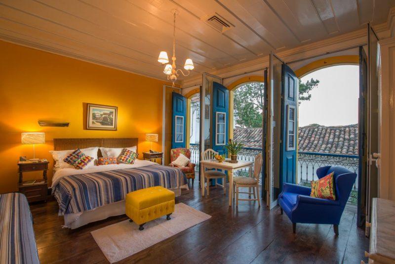 Protocolo de segurança em Paraty: os quartos da Pousada do Sandi são higienizados com frequência e sempre arejados.