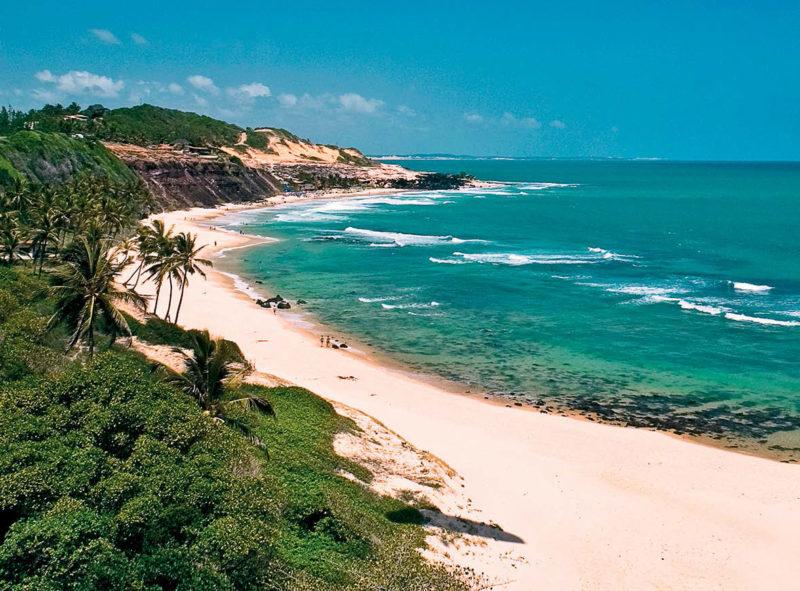 Turismo no Brasil pós Covid-19: Pipa retornou com o turismo no começo de julho.