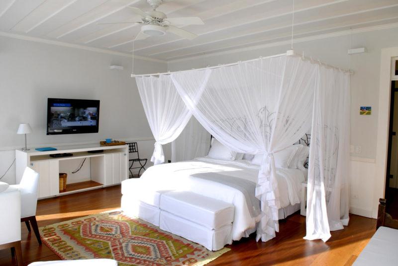 Melhores hoteis de Paraty: o quarto da Casa Turquesa