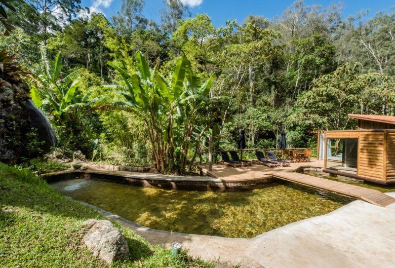 E a piscina natural do Tankamana: água da montanha