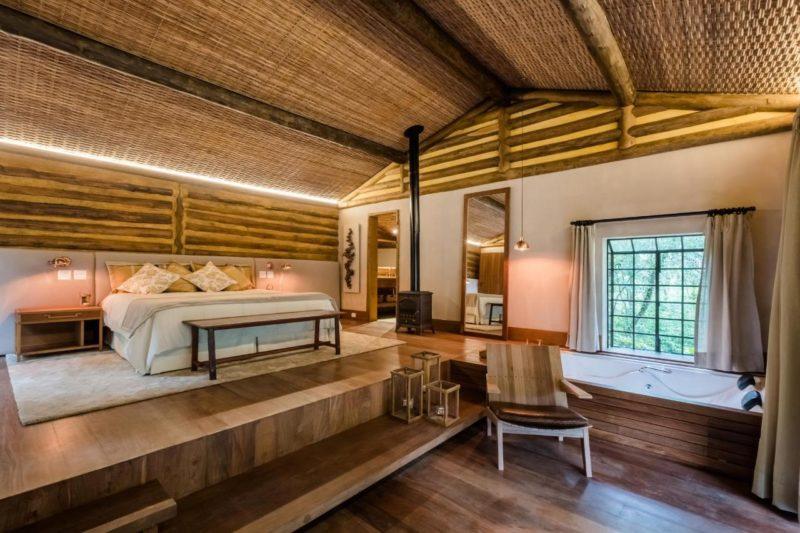 Hoteis de montanha perto do Rio: a pousada Tankamana é ótima para o turismo de isolamento