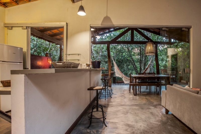 Casas mais lindas do Airbnb: contato com a natureza na Casa do Cipó.
