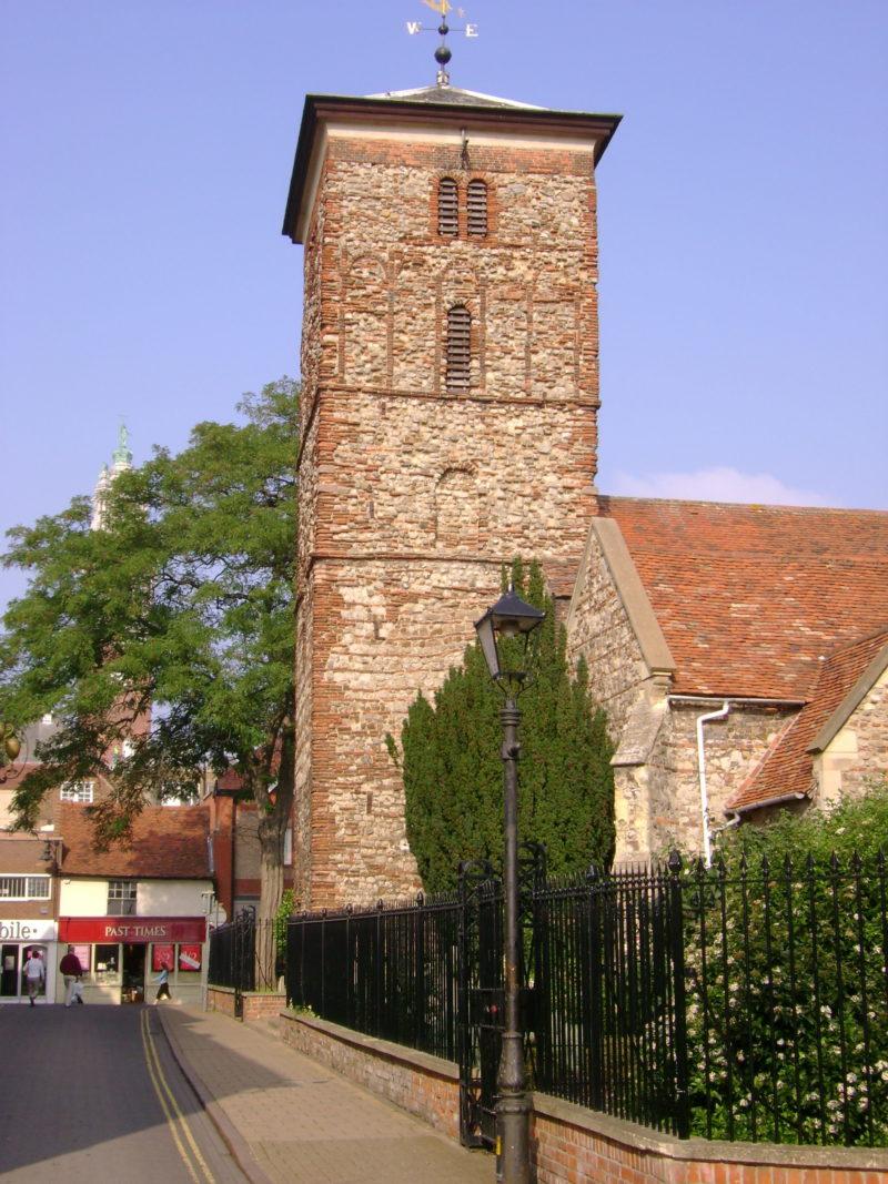 Inglaterra dicas: construção histórica de Holy Trinity Church, em Colchester.