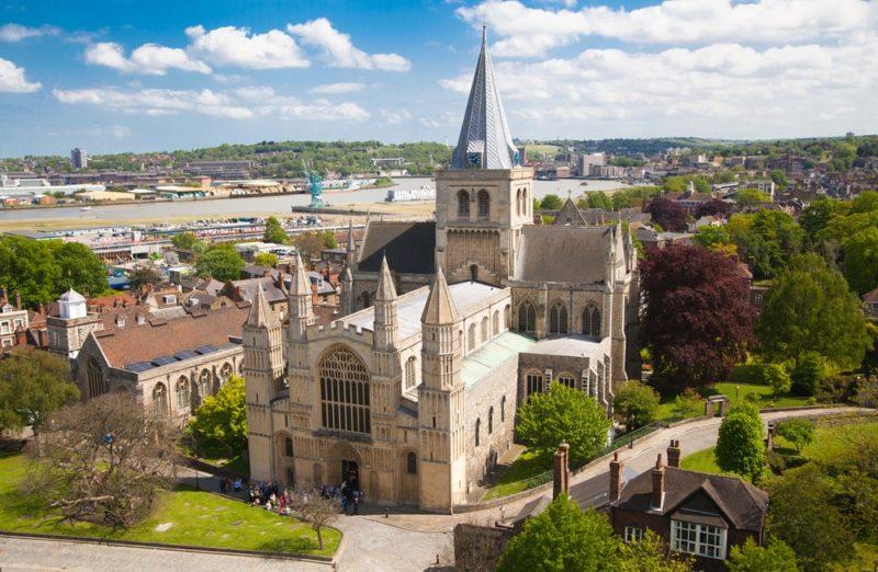Dicas Inglaterra: Catedral de Rochester, a segunda mais antiga do país.