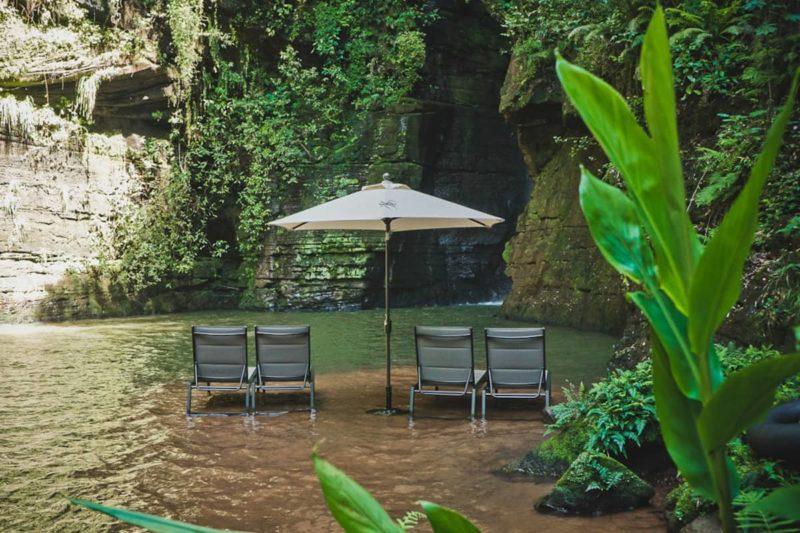 Dicas de aluguel de casas: Curtir a natureza dentro da propriedade da Estância Lomba.