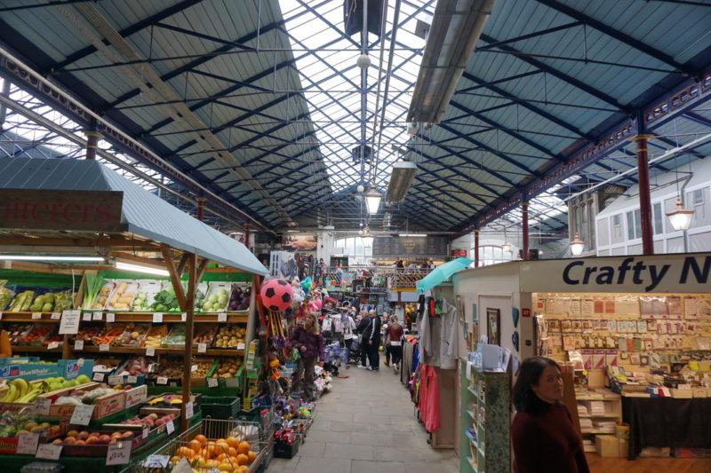 O que fazer em Durham: explorar o Durham Indoor Market.