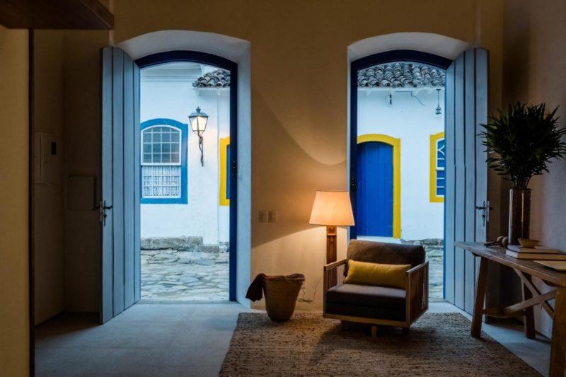 Onde ficar em Paraty: Casa Literária, no Centro histórico.