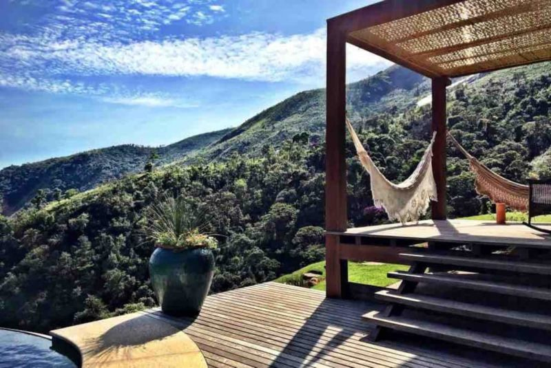 Cidades próximas do Rio de Janeiro: e a vista incrível que a Casa do Vale tem.