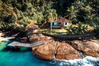 Melhores Airbnb Rio de Janeiro: olha que delicia essa casa na Ilha do Araujo