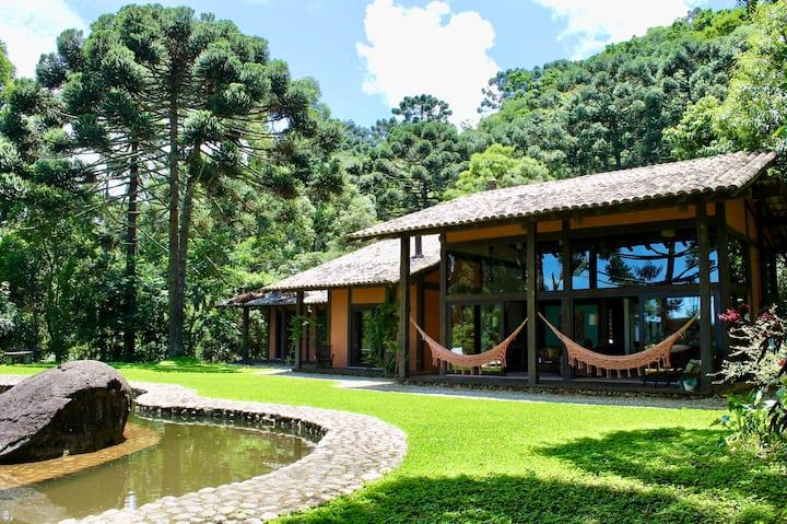 Airbnb mais lindos do Brasil: casarão na Serra da Mantiqueira.