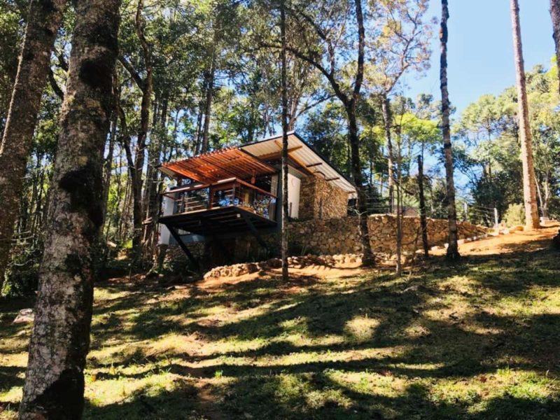 Airbnb em Minas Gerais: chalé nos pés da Serra da Mantiqueira.