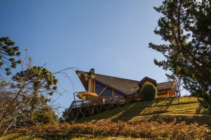 airbnb Campos do Jordão: a casa linda na colina