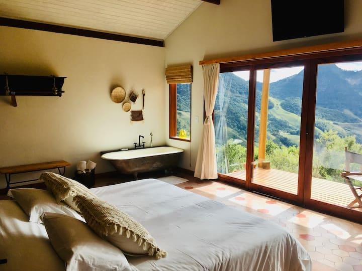 Airbnb Serra de São Paulo: e agora, o interior do quarto