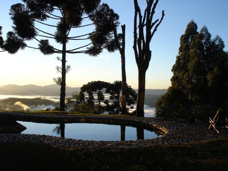 Airbnb Serra na Mantiqueira: olha que linda a vista que se tem a partir da casa