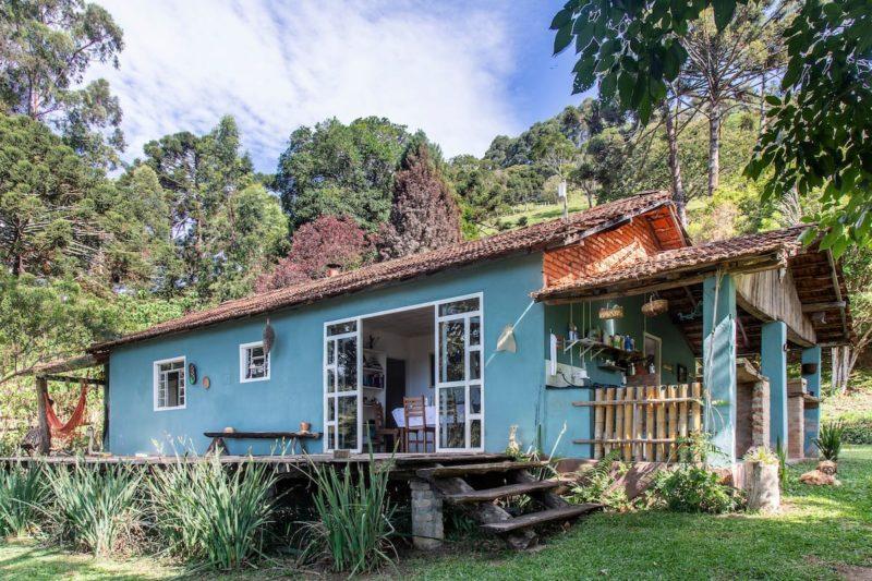 Casa Airbnb charmosa em Gonçalves.