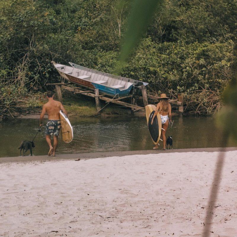 praias mais lindas do litoral de São Paulo: Juquehy tem também um rio