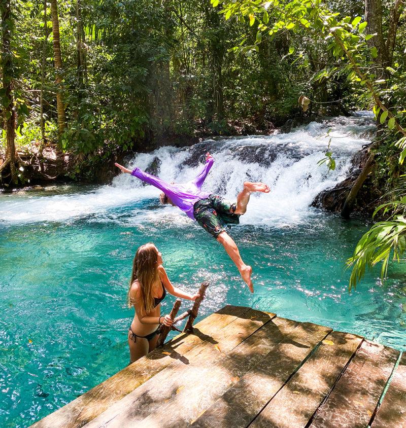 A cachoeira do Formiga conseguiu superar nossas expectativas