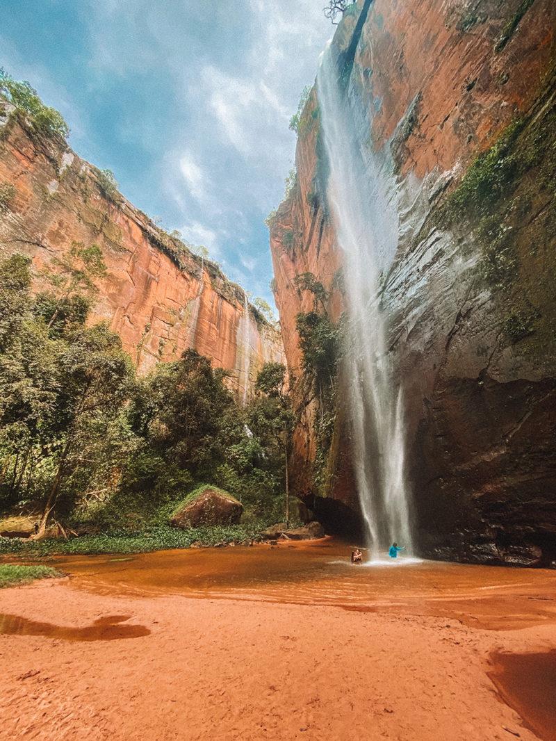 O Cânion Encantado e a cachoeira do Elias, nas Serras Gerais do Tocantins. O auge da viagem!!!