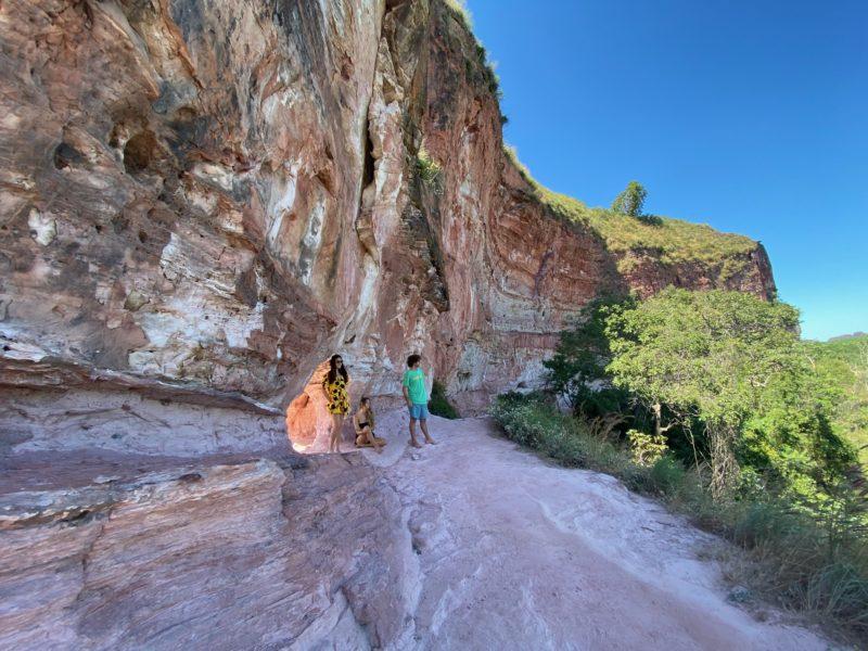 A Pedra Furada, um dos cartões-postais do Cerrado