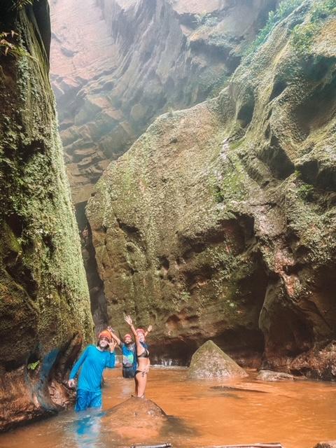 Serras Gerais do Tocantins: o caminho vai afunilando e ficando cada vez mais louco