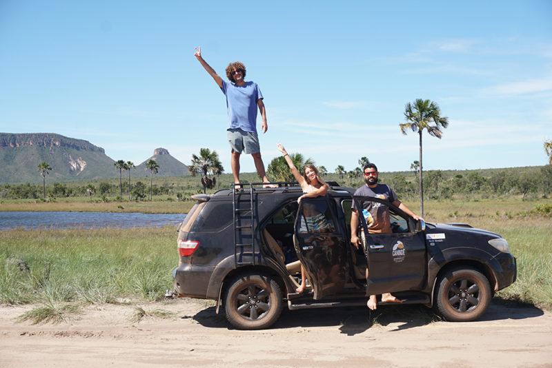 Nós e o Rostan. A Canindé Ecotour é disparada a melhor agência do Jalapão