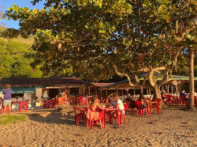 Onde comer na Ilha Grande: restaurante Peixe com Banana