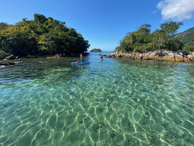 Mais uma da Lagoa Verde, na Ilha Grande. Olha que mar!!