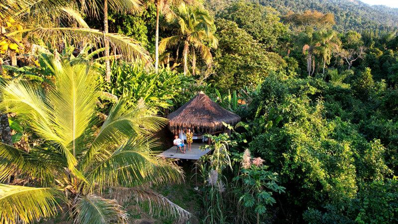 Onde ficar em Ilha Grande: o incrível Jungle Lodge.