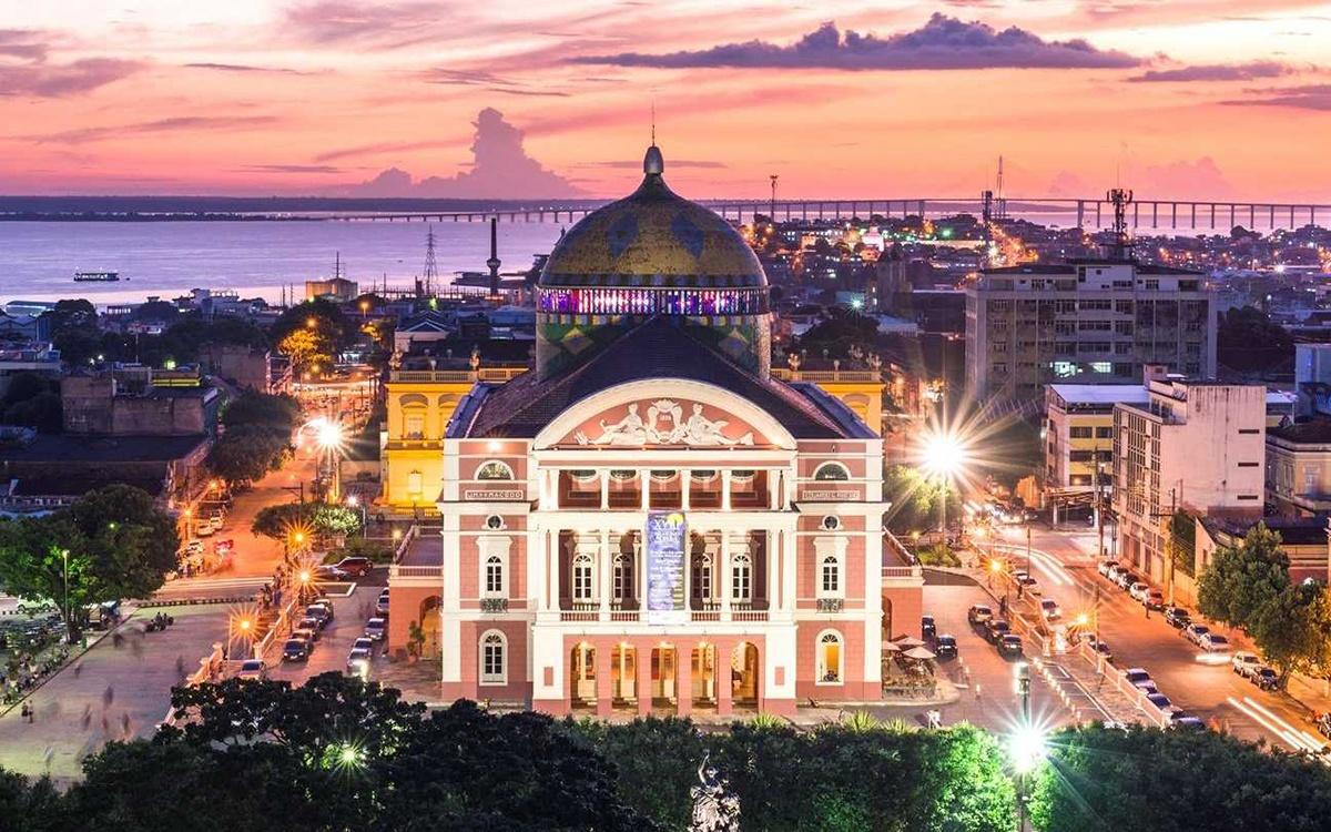 O que fazer em Manaus em outubro: Teatro Amazonas. Crédito: Rede Manaus.